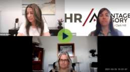 Michele Burke, Melinda Lapan, and Vanessa Kelly recording video webinar