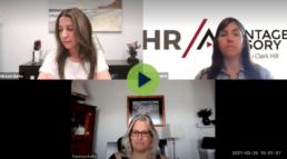 Michele Burke, Melinda Lapan, and Vanessa Kelly recording video webinar